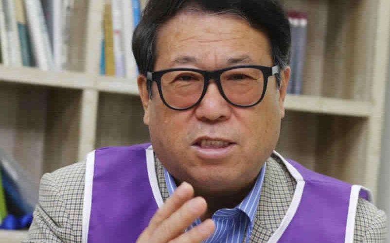 <창간5주년> 평화협정운동중앙본부공동상임대표 이적목사
