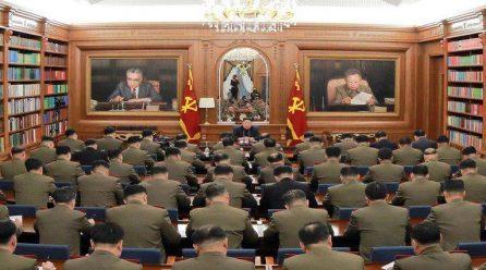 12월22일 국내단신 … 북, 신년사 발표한 집무실에서 당군사위확대회의