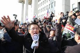 황교안발악강도와 자유한국당침몰속도의 정비례법칙