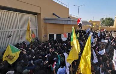 12월31일 국제단신 … 이라크시위대, 바그다드주재미대사관출입문부수고 진입