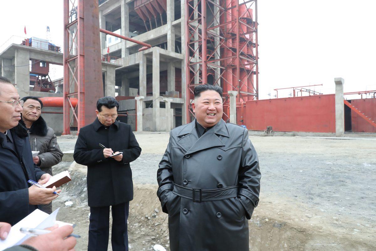 [노동신문] 김정은위원장, 순천인비료공장건설현장 현지지도