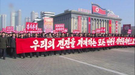 [노동신문] 혁명의 활로를 밝혀주는 우리 당의 정면돌파전사상