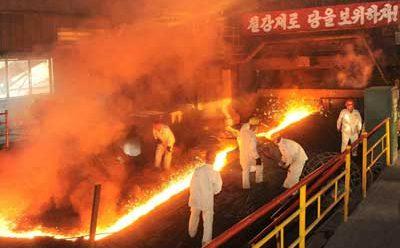 [노동신문] 주요공업부문에서부터 정면돌파전의 불길을 세차게 일으키자