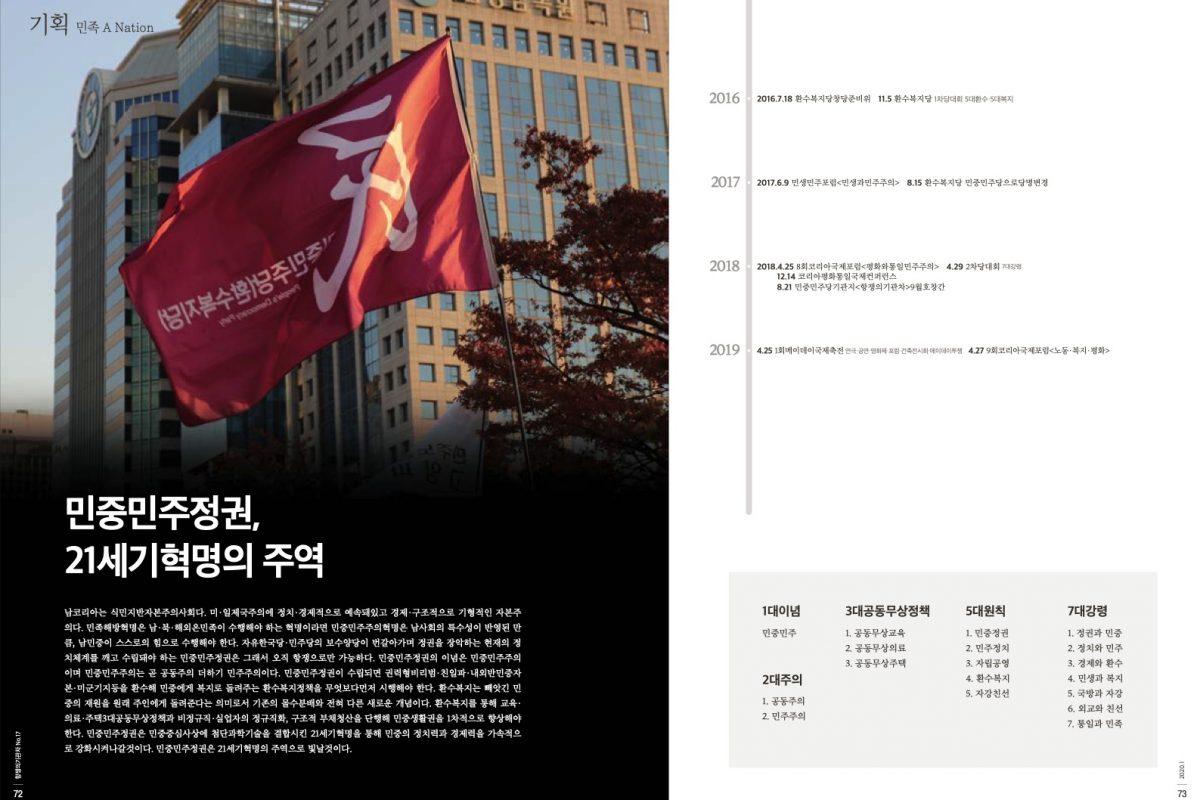 [항쟁의기관차1 – 꼬무나] 민중민주정권, 21세기혁명의 주역