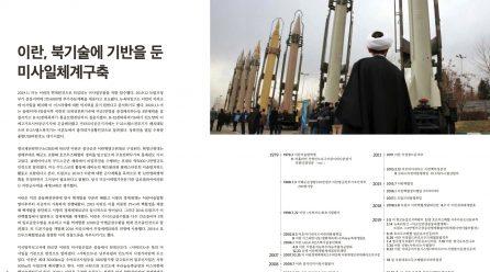 [항쟁의기관차2 – 첨단] 이란, 북기술에 기반을 둔 미사일체계구축