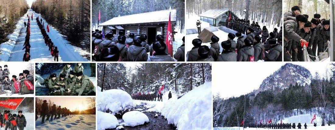 [노동신문] 백두산지구 혁명전적지답사행군대 체험기(2)