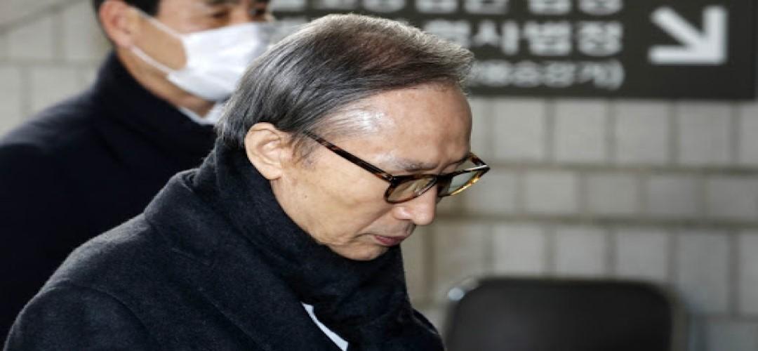 [국내단신] 이명박전대통령 재구속엿새만에 석방