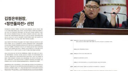 [항쟁의기관차2 – 첨단] 김정은위원장, <정면돌파전> 선언