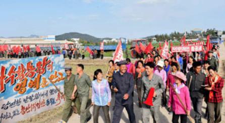 [노동신문] 쌀로써 사회주의를 받들자