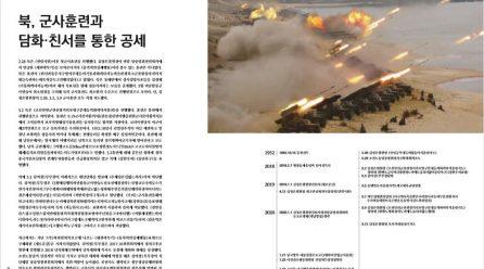 [항쟁의기관차4 – 생활] 북, 군사훈련과 담화·친서를 통한 공세