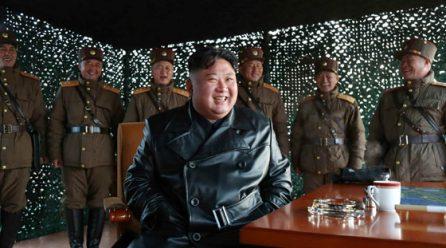 [노동신문] 김정은동지께서 전술유도무기 시범사격을 보시였다