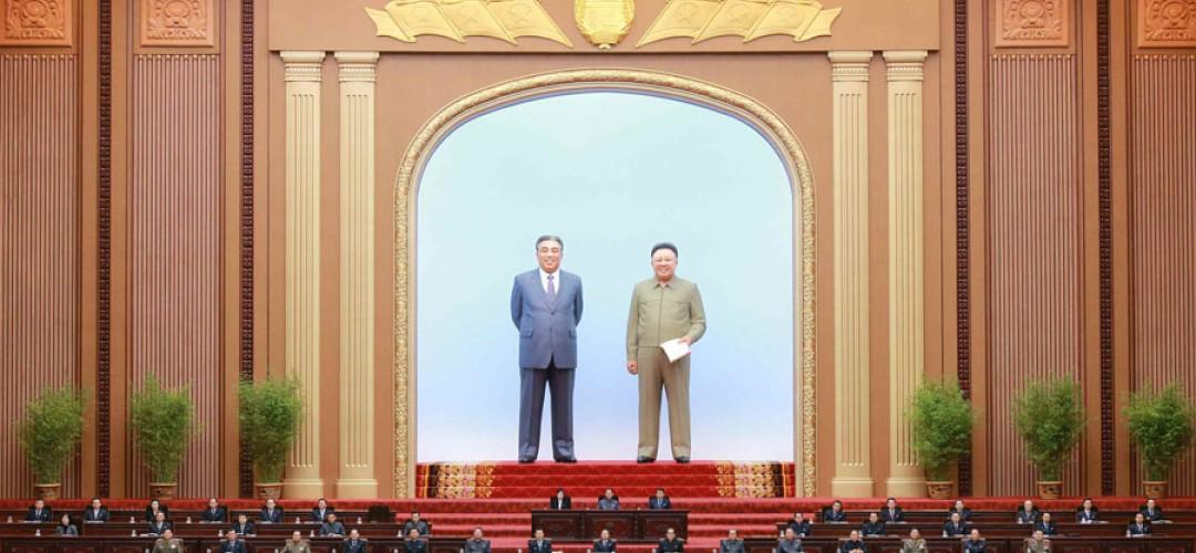 북 최고인민회의 제14기 제3차회의진행
