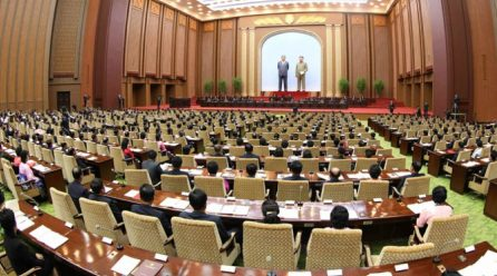 북 최고인민회의 제14기 제3차회의 보고·토론