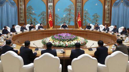 북, 당중앙위원회정치국회의 진행