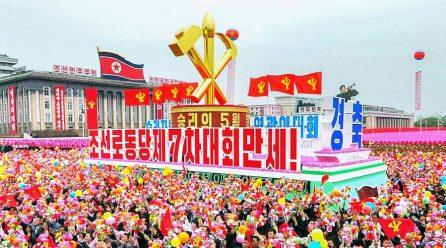 [노동신문] 혁명의 전진을 힘있게 추동한 역사적인 당 제7차대회