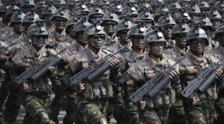 북, 총참모부대변인 <대적군사행동계획방향> 발표