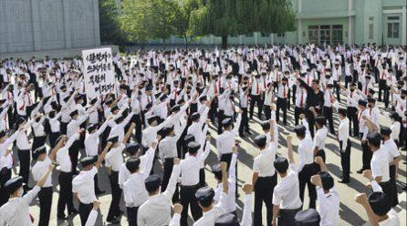 [국내단신] 대북전단살포규탄 항의군중집회