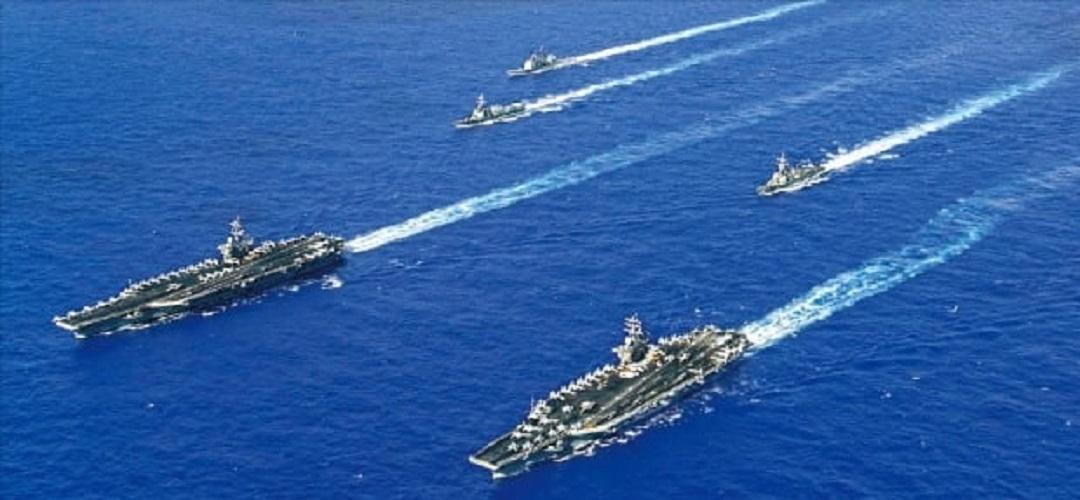 [국제단신] 미항모2척 한반도포함 7함대구역전진배치