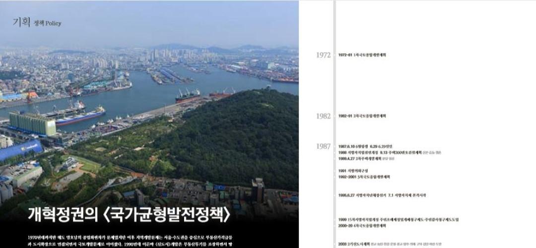 [항쟁의기관차7 – 광주40] 개혁정권의 <국가균형발전정책>