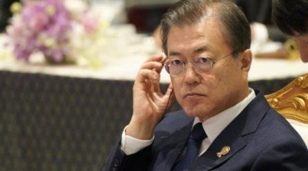 문대통령 국정지지율 3주연속하락 .. 남북관계파탄 원인