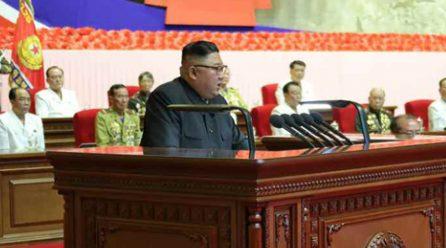 김정은위원장 <위대한 승리자들의 위훈은 영원불멸할것이다>