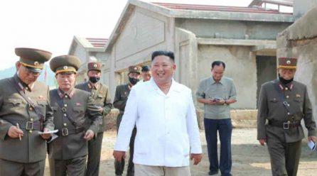 김정은위원장, 광천닭공장지도