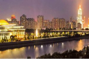 [노동신문] 행복의 불빛 넘쳐흐르는 아름다운 수도의 거리