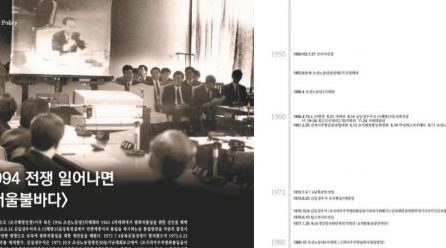 [항쟁의기관차8 – 해방] 1994 전쟁 일어나면 <서울불바다>