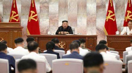 김정은위원장, 당중앙군사위 제7기6차확대회의지도