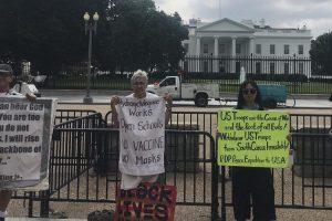 <전세계인들도 열망하는 코리아의 평화> 9차미국평화원정 202일째 … 미국평화원정시위 총1230일째