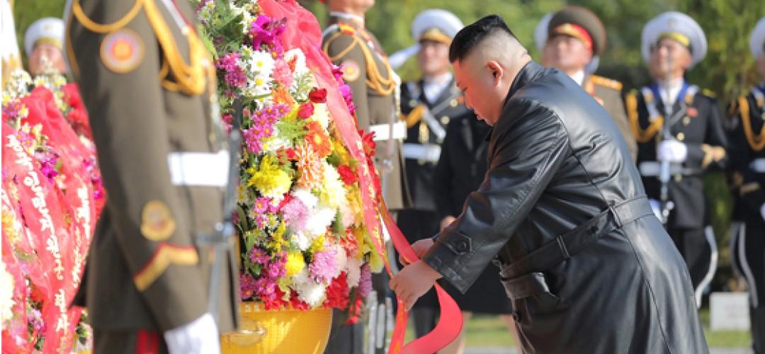 중국인민지원군열사릉방문