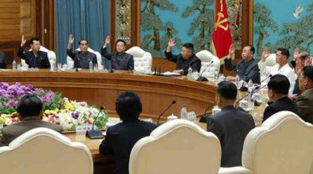 당중앙위 제7기제19차 정치국회의