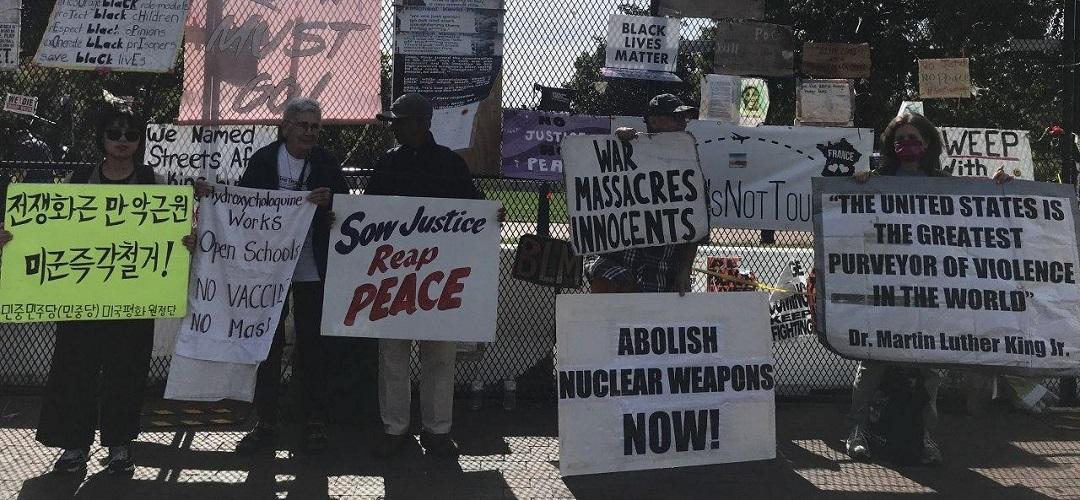 <우리의 목소리로 전쟁 막아낼것> 9차미국평화원정 223일째 … 미국평화원정시위 총1251일째
